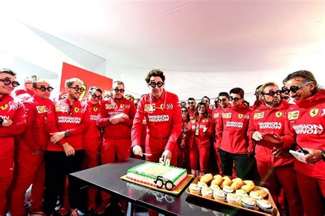 Labelling binotto a 'silent leader who is not used to moving around the f1 tables', the italian's days in charge could be numbered. Happy Birthday to Mattia Binotto! He turns 50 today. 📸 via Scuderia Ferrari : scuderiaferrari