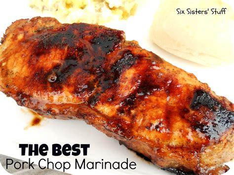 marinade for pork amazing pork chop marinade six sisters stuff