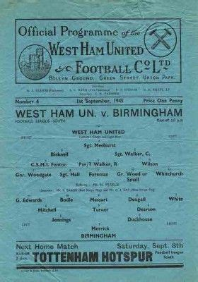 45_09_01 WHU v. Birmingham City 01 | Birmingham city ...