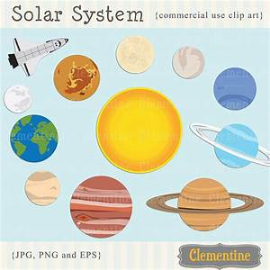 All of the Planets Solar System Clip Art (page 2) - Pics ...