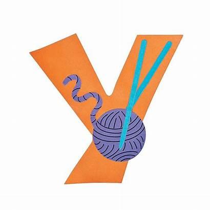 Letter Craft Yarn Lowercase Kit Crafts Alphabet