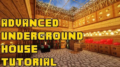 minecraft advanced underground housebase tutorial xboxpcpepsps youtube