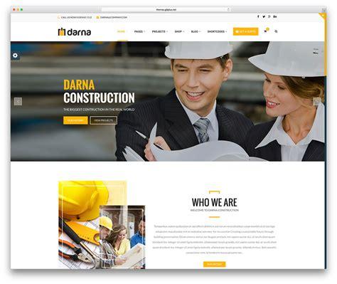 45 best construction company wordpress themes 2018 colorlib