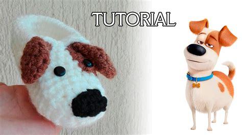 perrito a crochet tutorial pantufla de perrito a crochet