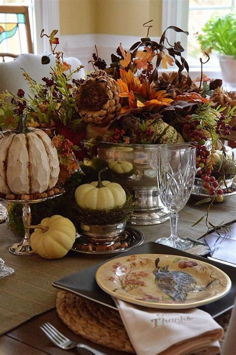 thanksgiving tablescape ideas thanksgiving tablescape
