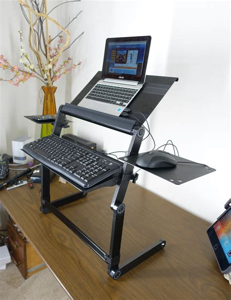 what does desk lapworks wizard standing desk for your desktop or table