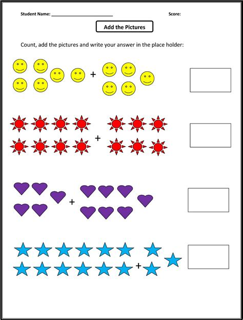 Free First Grade Math Worksheets  Printable Shelter