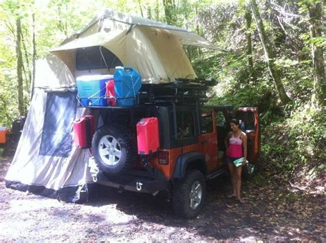 jeep tent inside cvt car top tent truck tents jeeptents cing