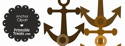 Anchor Clipart Brown Shades Printabletreats Printable