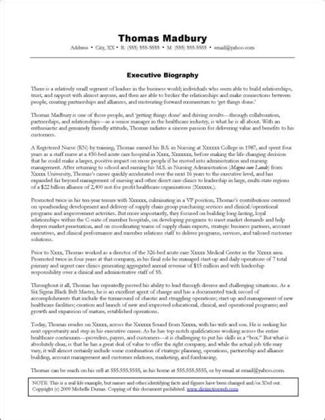 Executive Biography Samples  Distinctive Documents. Summary Of Skills Resume Template. Order Slip Template. Time Management Calendar Template. Making Life Better Coupons Template. Editable Rental Agreement. Ms Word Calendar 2017 Template. Reference Of Character Letter Template. Printable Lesson Plan Pages Template