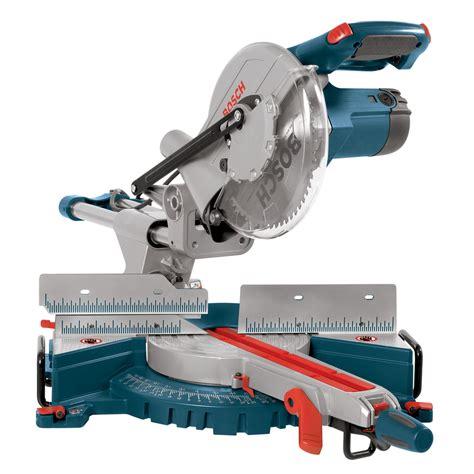 sliding compound miter saw shop bosch 13 amp bevel slide miter saw at lowes com