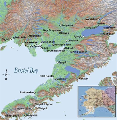 Image result for bristol bay ak map