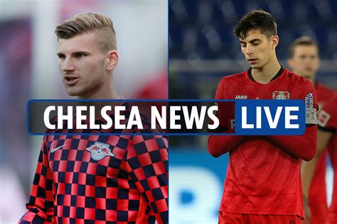 6pm Chelsea news LIVE: Werner release clause expires TODAY ...