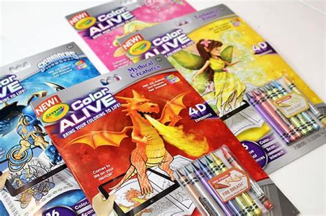 Crayola Color Alive Coloring Books Are Awesome