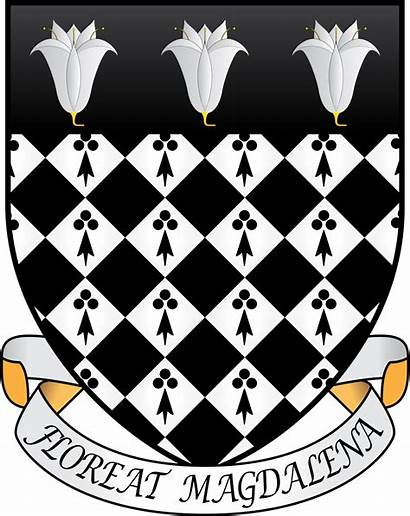 Oxford Magdalen College Arms Coat Motto Svg