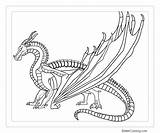 Wings Fire Coloring Pages Printable Adults Template sketch template