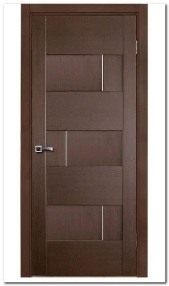 model pintu kamar tidur  kayu motif populer