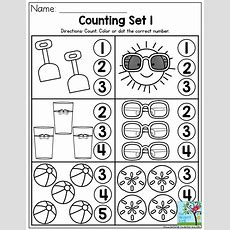 Counting Summer Fun Perfect Number Recognition Activity From The Summer Review No Prep Packet