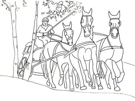 Ausmalbilder Pferde Mit Kutsche 1