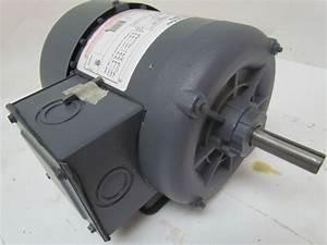 Ao Smith H869 Tefc Electric Motor 3  4 Hp 3ph 1725rpm 200 480 Vac Ba56 Frame
