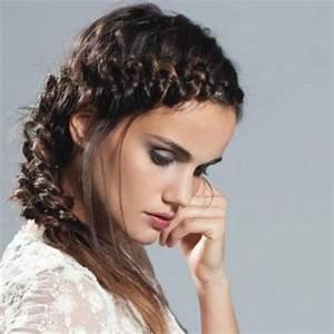Tresse Cheveux Courts : natte cheveux ~ Melissatoandfro.com Idées de Décoration