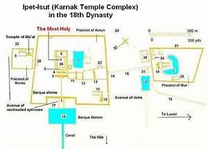 Karnak Temple Map