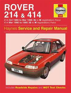 Rover 214 414 Petrol 1989 1996 Haynes Service Repair Manual