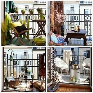 Paravent Outdoor Balkon : kleinen balkon sommerlich gestalten bambus paravent sitzkissen wohnideen pinterest ~ Sanjose-hotels-ca.com Haus und Dekorationen