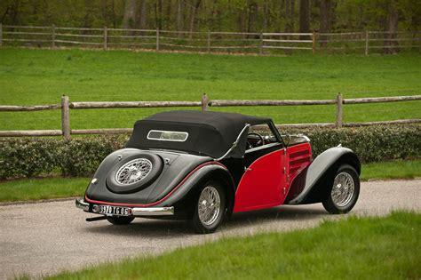 '38 Bugatti Type 57 Stelvio Cabriolet Hitting The Auction