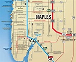Oliver's Summer Map of Naples