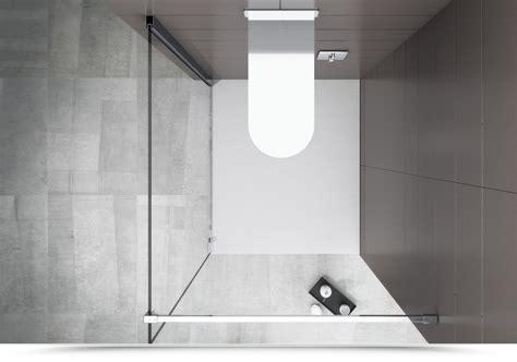 parete doccia walk in walk in 140 cm parete doccia in cristallo anticalcare da 10 mm