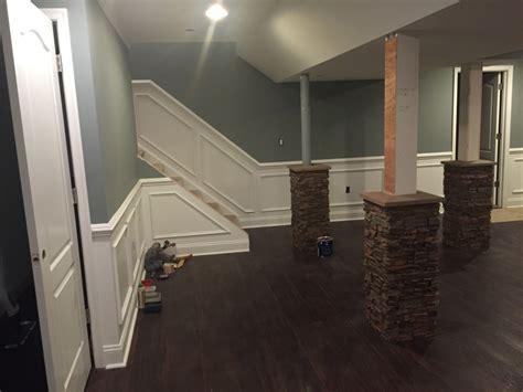 basement wrap super stylish basement column idea creative columns