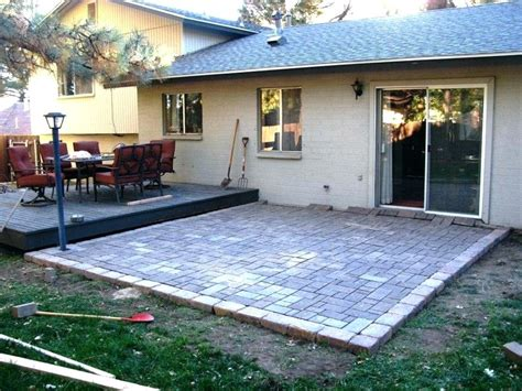 Basic Patio Designs by Worthy Simple Patio Designs With Pavers Bd About Remodel