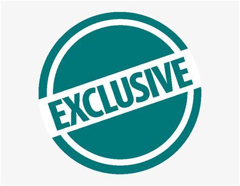 Tourists - Transparent Exclusive Logo Png PNG Image ...
