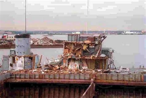 Marine Salvage Yard Baltimore by Mso 448 Illusive