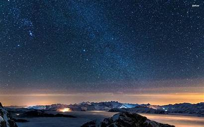 Sky Starry Night Wallpapers Cave
