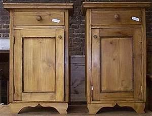Table De Nuit Haute : table de nuit haute en pin sur mesure 1 tiroir 1 porte meuble marcelis luc ~ Teatrodelosmanantiales.com Idées de Décoration