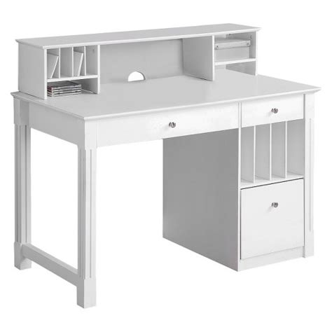 white and wood desk home office deluxe white wood storage computer desk with