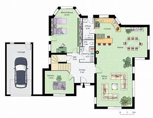 maison familiale 10 detail du plan de maison familiale With faire un plan de maison 10 modale maison contemporaine atria