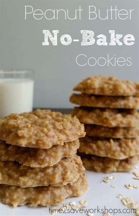 peanut butter no bake cookies peanut butter no bake cookies recipe kasey trenum