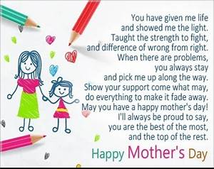 Happy Mothers Day Messages 2018 – Mother's Day Card ...