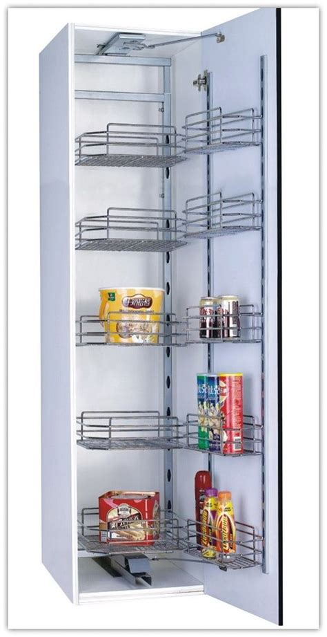 kitchen cabinet pantry unit basket shelves tandem and kitchen storage on 5649
