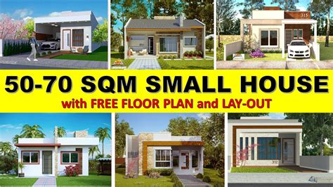 House Plans For Small Houses 50 Sq M