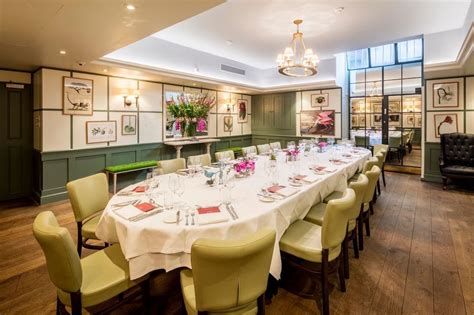 1 Lombard Street Review  Private Dining Rooms