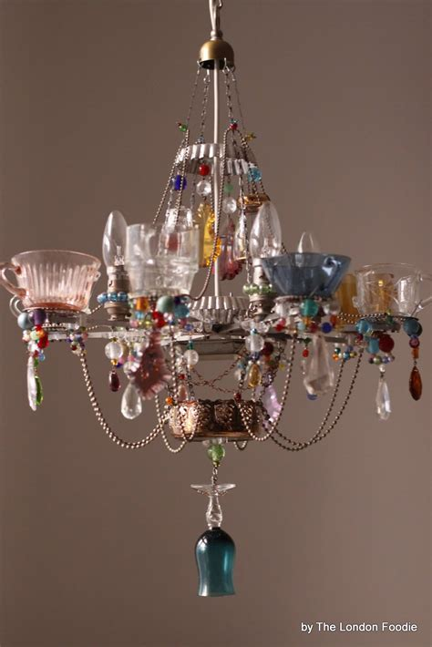 london foodie  fantastic teacup chandeliers