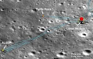 Moon Landing Sites through Hubble - Pics about space