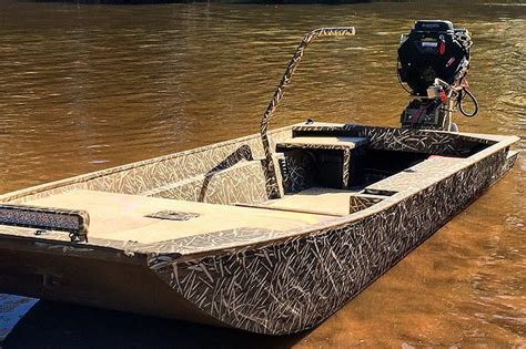 Ultimate Duck Hunting Boat by Low Country Boats Duck Boat Packages Featuring Custom
