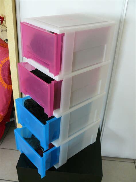 meuble tiroir plastique lot de 4 caissons tiroirs en plastique vide appart stef et nono videappartquebec gmail