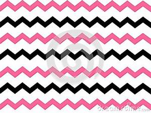 Black And Pink Chevron Background Stock Illustration ...