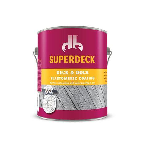 Superdeck Deck And Dock Elastomeric Coating Colors by Deck Dock Elastomeric Coating 3100 Duckback
